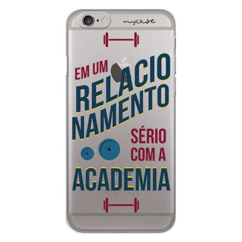 Imagem de Capa para Celular - Em um relacionamento serio com a academia.