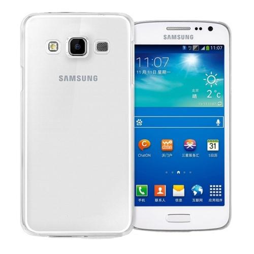 Imagem de Capa para Galaxy E7 de TPU - Transparente