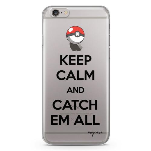 Imagem de Capa para Celular - Keep Calm and Catch Em All