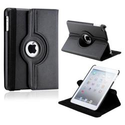 Imagem de Capa para iPad Mini de Couro com Rotação de 360 Graus - Preta