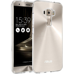 "Imagem de Capa para ZenFone 3 Deluxe 5,7"" (ZS570KL) de TPU - Transparente"