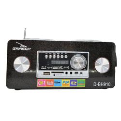Imagem de Caixa de Som Bluetooth D-BH910 - Grasep | Preta