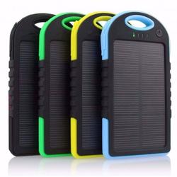 Imagem de Power Bank Solar Bateria Extra Portátil 8000mAh