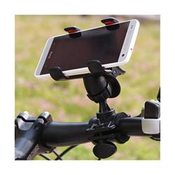 Imagem de Suporte de Bicicleta e Moto para Smartphone - Preto