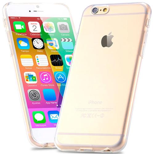 Imagem de Capa para iPhone 6 e 6S de TPU Casca de Ovo - Transparente