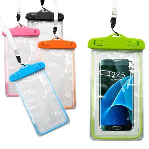 Imagem de Bolsa Protetora a prova D'Água para Smartphone - Diversas Cores