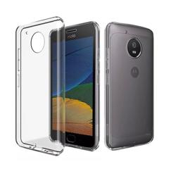 Imagem de Capa para Moto G5 Plus de TPU - Transparente