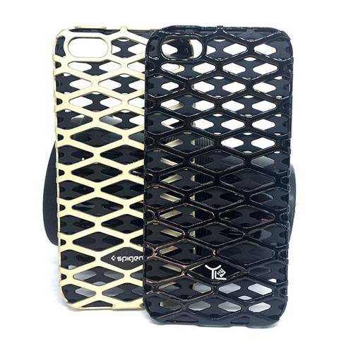Imagem de Capa para iPhone 5 e 5S de TPU com Plástico - Arabesco