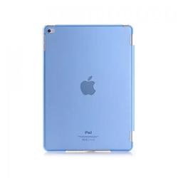 Imagem de Capa para iPad iPad Air 2 traseira de Plástico compatível com Smart Cover - Azul Transparente