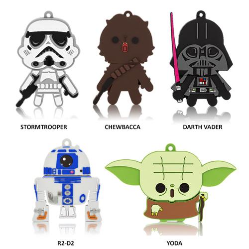 Imagem de Pen Drive 8GB - Star Wars | Personagens