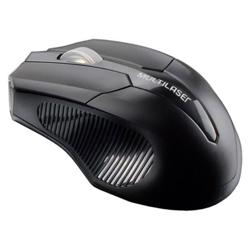 Imagem de Mouse Sem Fio USB 2.4GhZ - Multilaser MO221 | Preto