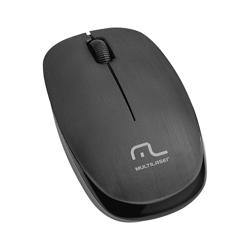 Imagem de Mouse Sem Fio USB 2.4GhZ - Multilaser MO251 | Preto