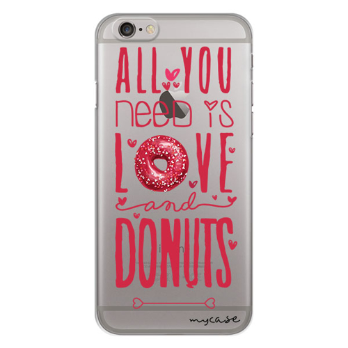 Imagem de Capa para Celular - All you need is love and donuts