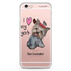 """Imagem de Capa para Celular - I love my York """" nome do seu animal """""""