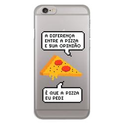 Imagem de Capa para Celular - Diferença entre pizza e sua opinião