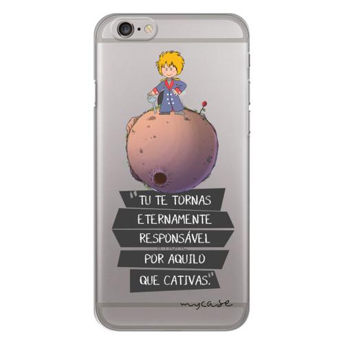 Imagem de Capa para Celular - O Pequeno Príncipe Tu te tornas etermente responsável