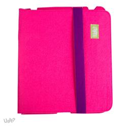 Imagem de Capa para iPad 2, 3 e 4 de Feltro - Pink