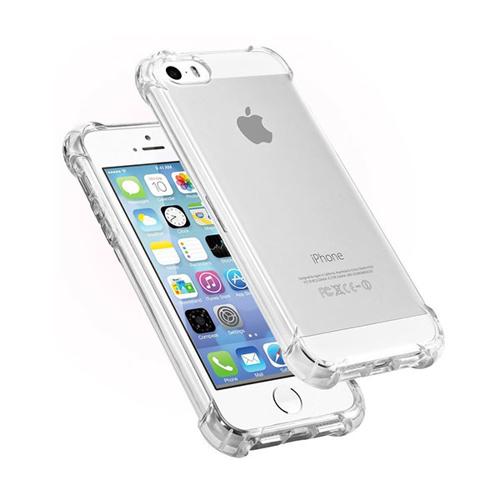 Imagem de Capa para iPhone 5 de TPU Anti Shock - Transparente
