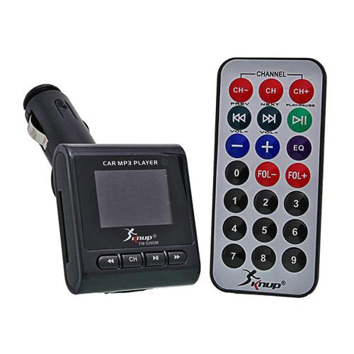 Imagem de Transmissor FM com Controle Remoto MP3 Player para Automóvel