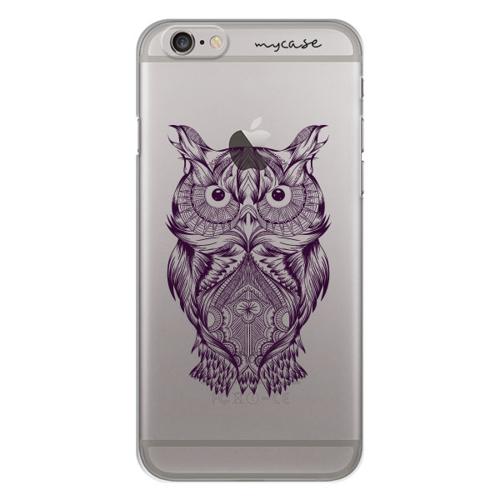 Imagem de Capa para Celular - Coruja Colorful Dark Purple