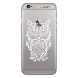 Imagem de Capa para Celular - Coruja Colorful White