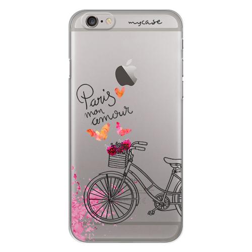 Imagem de Capa para Celular - Paris Mon Amour Bicicleta