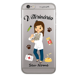 Imagem de Capa para Celular - Veterinária | Mulher