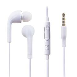 Imagem de Fone de Ouvido com Microfone e Controle de Volume para Samsung - Branco