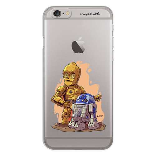 Imagem de Capa para celular - Star Wars | R2D2 e C3PO