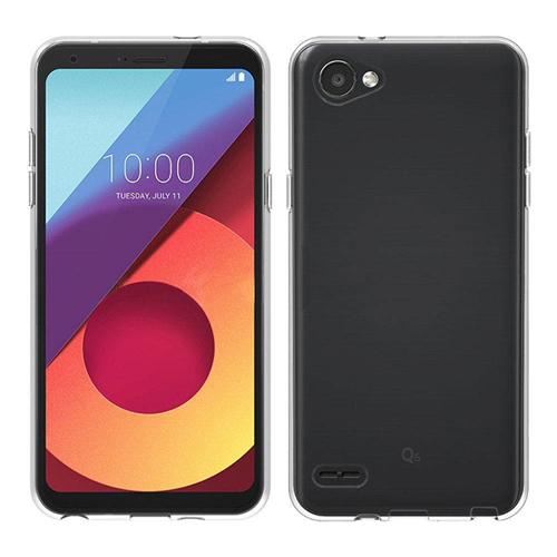 Imagem de Capa para LG Q6 de TPU - Transparente
