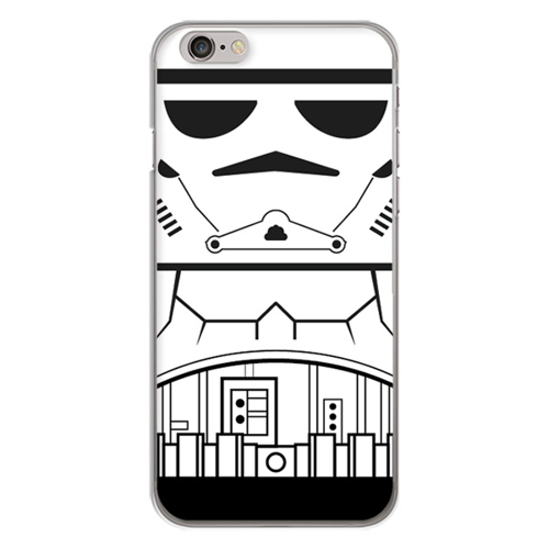 Imagem de Capa para celular - Star Wars | Stormtrooper Flat