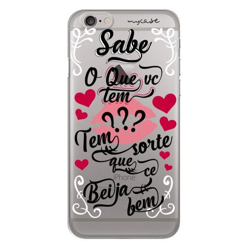 Imagem de Capa para celular - Sorte Que Cê Beija Bem