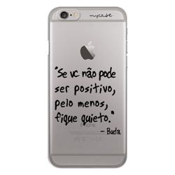Imagem de Capa para celular - Seja positivo - Buda