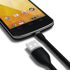 Imagem de Cabo de dados Flexível Micro USB 15cm - KinGo
