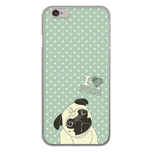 Imagem de Capa para celular - I Love Pugs