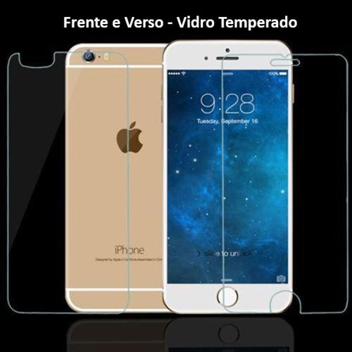 Imagem de Película para iPhone 7 Plus de Vidro Temperado - Frente e Verso | Transparente