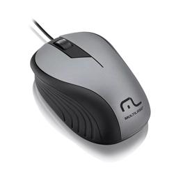 Imagem de Mouse com fio Emborrachado USB - Multilaser