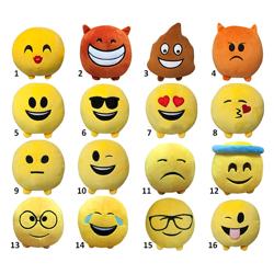 Imagem de Emoji Pelúcia 11 cm Colecionáveis - Multikids
