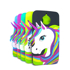 Imagem de Capa para Moto G5S de Silicone - Unicórnio