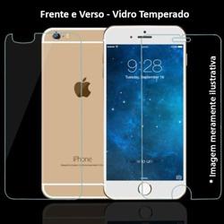 Imagem de Película para iPhone 7 de Vidro Temperado - Frente e Verso | Transparente