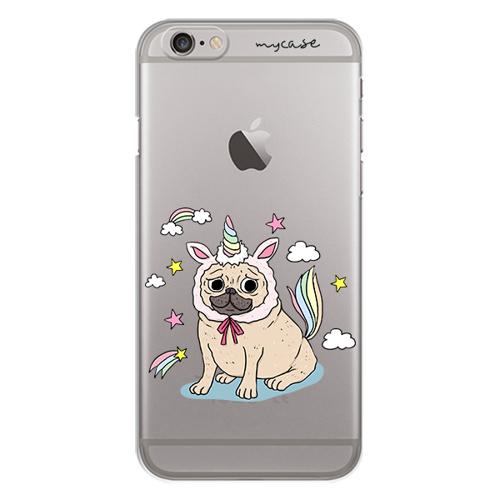 Imagem de Capa para celular - Pug Vestido de Unicórnio
