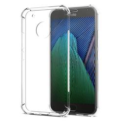 Imagem de Capa para Moto G5S Plus de TPU Anti Shock - Transparente