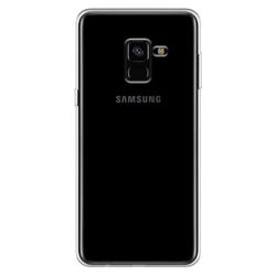 Imagem de Capa para Galaxy A8 2018 de TPU - Transparente