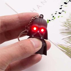 Imagem de Chaveiro Star Wars com LED e Som | Darth Vader