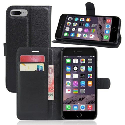 Imagem de Capa Para IPhone 7 Plus e 8 Plus De Couro Estilo Carteira - Cores Diversas