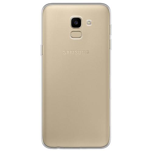 Imagem de Capa para Galaxy J6 de TPU - Transparente