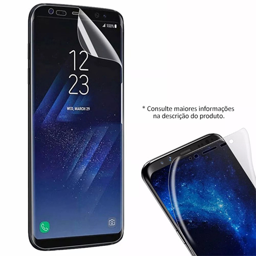 Imagem de Película para Galaxy S7 Edge de Gel - Transparente