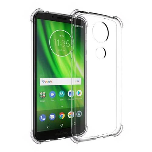 Imagem de Capa para Moto G6 Play de TPU Anti Shock - Transparente