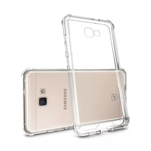 Imagem de Capa para Galaxy J7 Prime de TPU Anti Shock - Transparente