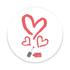 Imagem de Pop Socket - Coração de esmalte